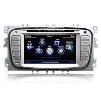 Car Stereo GPS Navigation for Ford Focus S-Max Mondeo Galaxy Kuga RDS DVD Player Multimedia Headunit Sat Nav Autoradio Bluetooth
