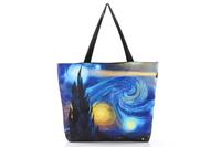 FREE SHIPPING Fashion Walker  HB003 Women/Man Galaxy  Printed Handbag Computer LAPTOP Ipad Shoulder Bag Recycle Wholesale