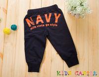 Free Shipping! Children Knitted Capri Pants, Boy's Three Quarters 3/4 Pants, Kid's 100% Cotton Cargo Shorts, 4 sizes/lot - LP718