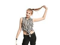 2014 Promotion  Retro  Women Brands Designer Strips Chiffon Blouse Women Tops with Free shipping