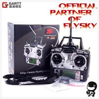 Freeshipping FS FlySky FS-T6/FS T6 2.4G Digital Proportional 6 Channels Transmitter & Receiver & GARTT Neck Strap Mode 2