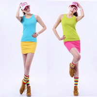 2013 Fashion cotton ladies skirts Sexy  high waist  women skirt female Sexy  Miniskirt  CT0007