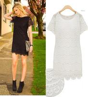 2014 summer fashion design brand lace embroidery dress for women mini club party sexy elegant bodycon women's dresses plus size