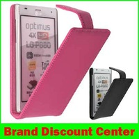 Brand Doormoon Fashion Flip Leather Cover Case Pouch For LG P880 Optimus 4X HD+Free screen guard