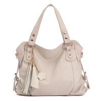 A Woman's 2013 Leather Fashion Handbags Retro Leather Laptop Messenger Bag