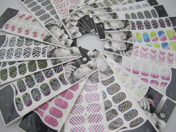 Fashion Foil Ultra Thin Polish-Skin Nail Art Wrap Patch Sticker 20 sheets/lot Free shipping