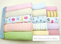 5pcs/lot, baby receiving blanket, baby bath towel cotton,carters brand quality,swadding for infant, toddler's bedding, wholesale