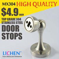 LICHEN MX304 top grade 304 stainless steel Door Stops door stopper Magnetic doorstops