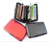 New As seen on TV an aluminum card card package aluminum aluma wallet