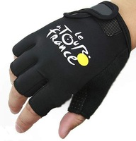 Cycling Bike Bicycle Ultra-breathable Shockproof Sports Half Finger Glove 1 Size AG2005