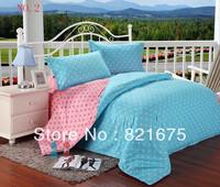 Wholesale hot cheap beautiful queen comforter bedding sets 4pcs 100% cotton FREE SHIPPING
