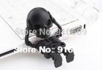 EH002 Fashion Hot Cartoon Cute Skeleton Model 4GB 8GB 16GB 32GB 64GB USB Flash 2.0 Memory Drive Stick Free Shipping
