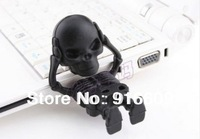 M-231 Wholesale Fashion Hot Cartoon Cute Skeleton Model 4GB 8GB 16GB 32GB 64GB USB Flash 2.0 Memory Drive Stick Free Shipping