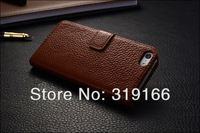 Classic style ! High quality Magnetic PU leather pouch Case Cover For iPhone 5 5g , 5 colors + 10pcs/lot