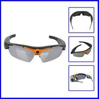 Free Shipping 720 HD Video Recorder Camera,Digital Sunglasses Camera + Web Camera+USB Drive+Elegent Box