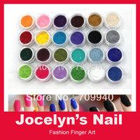 Free Shipping New 24 Colors Fashion Tips Nail Decoration Fuzzy Flocking Velvet Nail Powder Nail Art Tools Wholesale Dropshipping