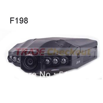 "Russia Language H198 Car DVR Video Registrar with 115 Degree View Angle 2.5"" LCD 6 IR LED Night Vision DVR Car Camera"