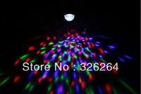 Free HK Parcel shipping 9W RGB  Voice control  85-265V RGB Full Color LED Crystal RGB track lights EU plug