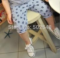 2014 Summer Baby Boys Shorts Children Skull Vertical Stripe Design Shorts Kids Clothing Free Shipping 5 PCS