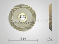60mm x 7.3mm x 12.7mm Key Cutters Blade Machine Parts