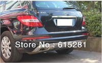 Mercedes R300/350/550 2010+,Rear Bumper Protector Body Kits Guard Plate , Stainless steel, Free Shipping