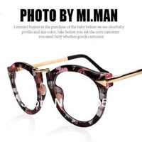 JJ204 Classic Plain Mirror Lens Arrow Metal Design Style Woman Glasses Fashion Sunglasses