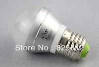 Big Eye color box 3W E27 big sprial led ball bulb led bulbs led ball light CFL(warm yellow)