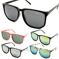 Free shipping! 2014 Hot Fashion New Goggles Unisex Wayfarer Style Colourized UV400 Sunglasses 120-0003