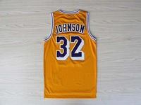 #32 Magic Johnson Jersey,Rev 30 Throwback Basketball Jersey Cheap Sport Jersey Stitched Logo Embroidery Authentic Jersey