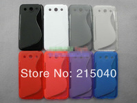 Free Shipping!! Newest S Line TPU Case for LG Optimus G Pro E980, S Wave Gel Soft TPU Case for LG Optimus G Pro F240, LGC-009