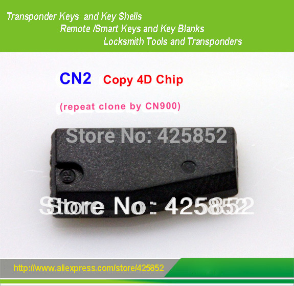High Quality CN2 Copy 4D Chip (repeat clone by CN900) auto transponder chip(China (Mainland))