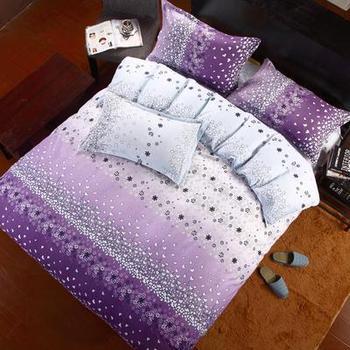 NEWLY1200TC  bedding set luxury,Include Duvet Cover Bed sheet Pillowcase,100%Cotton  EEUN11