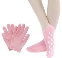 Brand New Soft Spa Gel Gloves and Socks for bautiful hands Moisturize Soften Skin care include 1 pair gloves+1 pair socks