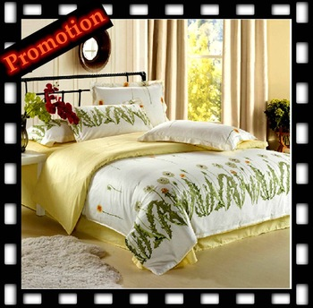 1200TC EGYPTION bedding set luxury,Include Duvet Cover Bed sheet Pillowcase,,King Queen Full Twin TY11