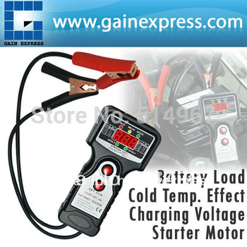 Digital Car Automative Vehicular Auto Battery Tester Checker Analyzer with 6V and 12V Voltage Indicator