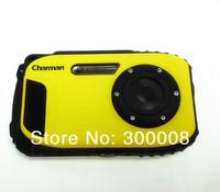 HKpost free shipping  2.7'' TFT LCD 720P16MP sport digital camera under water 10meters