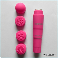 free shipping cheap price abs mini pocket rocket massager pen vibrator powerful PU coating mini vibe toys for women