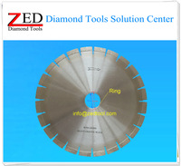 Good Quality 350x3.2x15mm Silent Diamond Circular Saw Blade for Granite, Smooth Cutting, Chipping Free