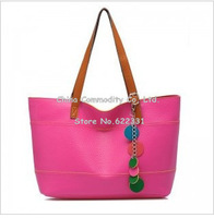 The new fashion color candy bag hit color chain pendants single shoulder bag