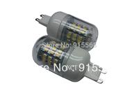 5Pcs/Lot SMD 3528 48 LED 200-240V LED Spot Light G9 Bulb Lamp Cold white / Warm White 360 Degree Free Shipping  2#