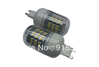 5Pcs/Lot SMD 3528 48 LED 200-240V LED Spot Light G9 Bulb Lamp Cold white / Warm White 360 Degree Free Shipping  2#