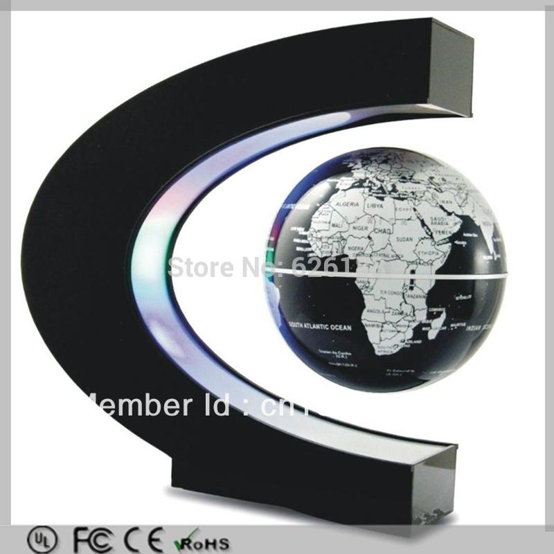 Levitation floating globe led light 3 inch antigravity globe magic
