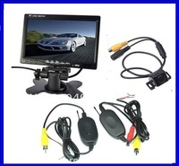 wirelessautomobile rearview camera and monitor system (High quality  performace back up camera with guide line) parking sensor