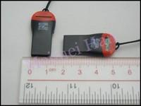 Wholsale USB 2.0 Microsd T-Flash TF Memory Card Reader  DHL Fast Free Shipping 500pcs/lot