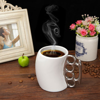 couples cup,lovers ceramic coffee mug,fashion creative drinkware gift,2014 new hot sale fist tea glass,Free shipping