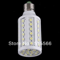 DHL Fast Free Shipping 50pcs/lot 12W E27 LED Corn Bulb 60pcs SMD5050 E14/E26/E27/B22 Warm White/Cool White 360degree CE&RoHS