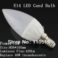 Free shipping 6W E14 led Candle bulb light  LED led lamp 50pcs/lot Candle bulb light SEND BY DHL