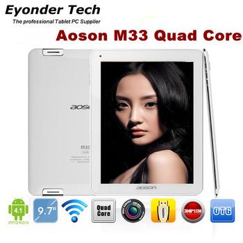 9.7 inch RK3188 Quad Core 1.6GHz Retina 2048x1536pixels Tablet PC Aoson M33