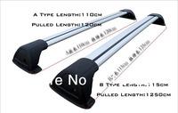 Y04007  Universal Aluminium-Alloy Roof Rack Car-top Racks Length Adjsuatble With Lock