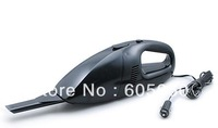 Brand New Super Suction Mini 12V High-Power Wet and Dry Portable Handheld Car Vacuum Cleaner Black Color Free Shipping